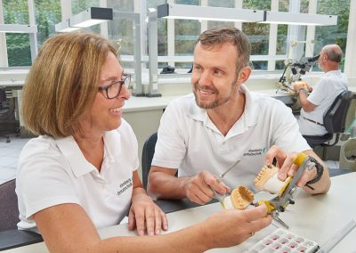 Zahntechnik bei Ebenbeck Dentaltechnik