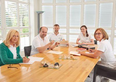 Das Team bei Ebenbeck Dentaltechnik in Straubing