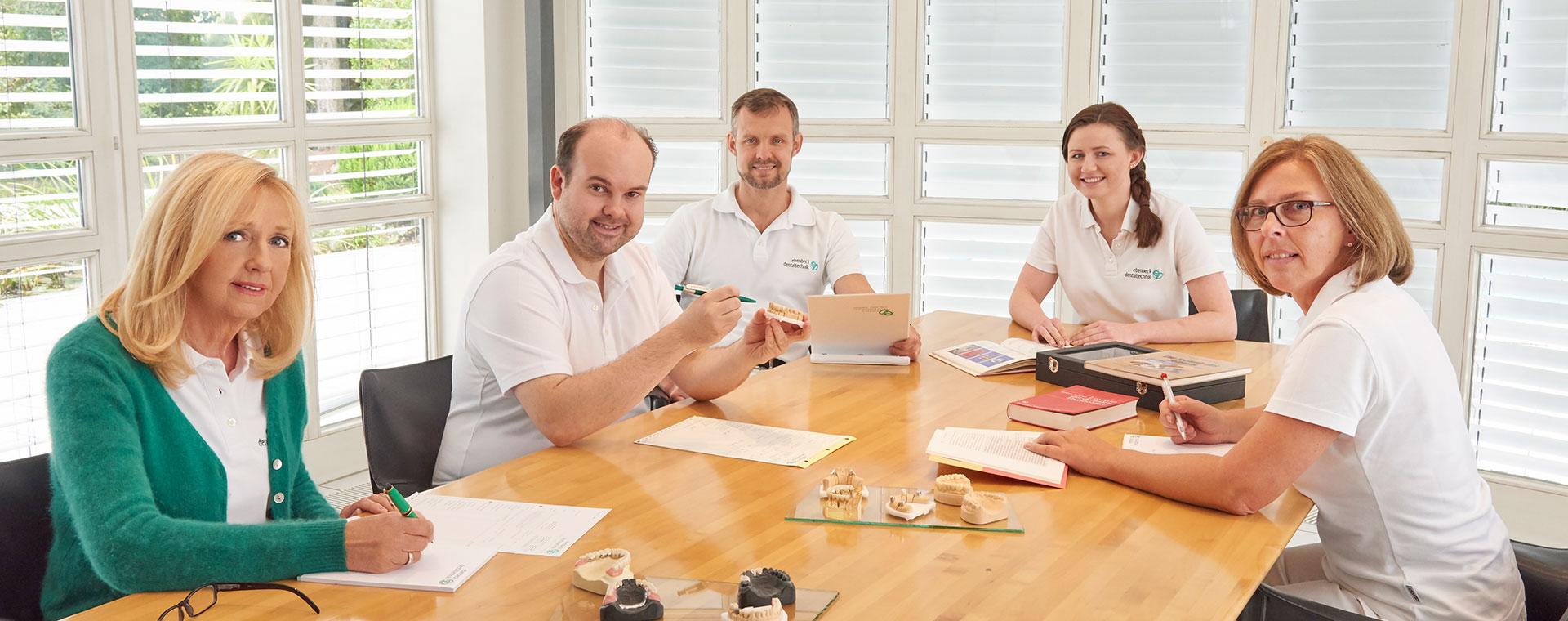 Das Team von Ebenbeck Dentaltechnik
